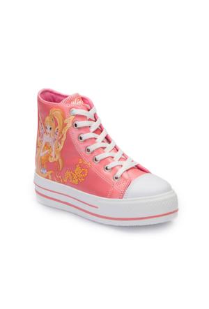Winx A3360545 Mercan Kız Çocuk Sneaker