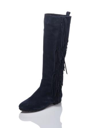 Bueno H1700 Lacivert Klasik Çizme