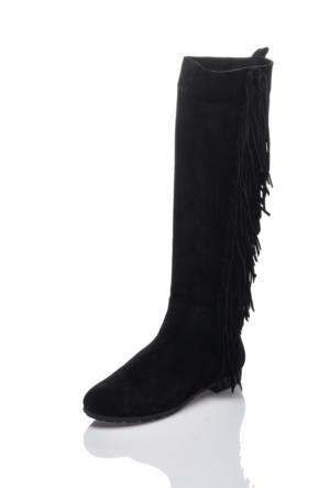 Bueno H1700 Siyah Klasik Çizme