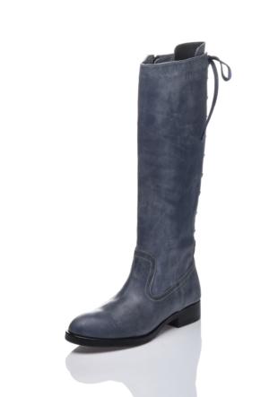Bueno H702 Mavi Klasik Çizme