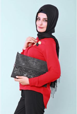 Güzel Çanta Siyah Gıvenchy Bayan El Çantası 211