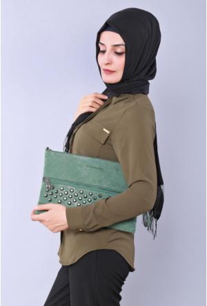 Güzel Çanta Yeşil Gıvenchy Bayan El Çantası 211