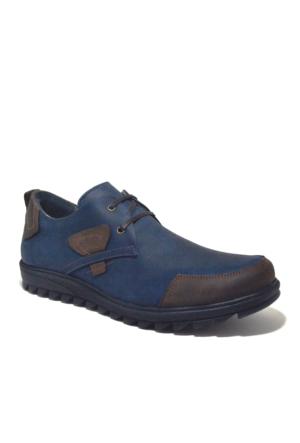 Tardelli Hakiki Deri Günlük Lacivert Nubuk Erkek Ayakkabısı