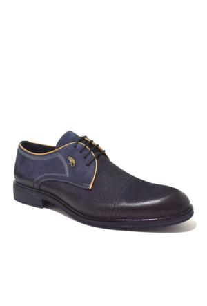 Dropland Hakiki Deri Günlük Lacivert Nubuk Erkek Ayakkabı