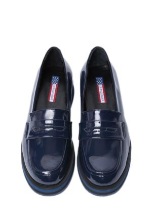 U.S. Polo Assn. Kadın Lacivert Ayakkabı K6Amelia