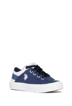 U.S. Polo Assn. Erkek Çocuk Mavi Ayakkabı Y6Arnel