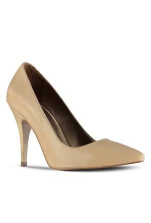 Marjin Siyso Topuklu Ayakkabı Bej