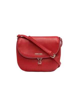 David Jones Kadın Flap Askılı Çanta Kırmızı