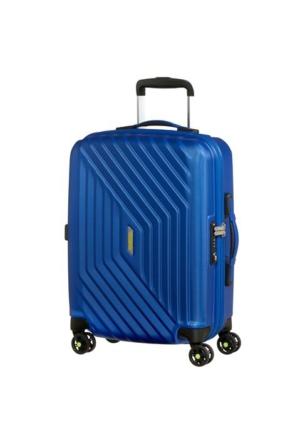 American Tourister Air Force 1 - 55 Cm Kabin Boy Dört Tekerlekli Valiz insigna Blue