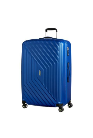 American Tourister Air Force 1 - 81 Cm Büyük Boy Dört Tekerlekli Valiz insigna Blue