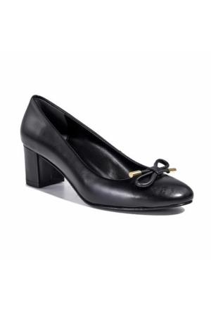 Desa Collection Kadın Klasik Deri Ayakkabı Siyah