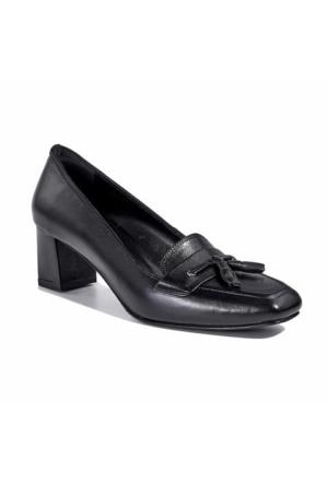 Desa Kadın Klasik Deri Ayakkabı Siyah