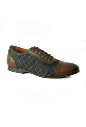 Marcomen 351 Deri Erkek Ayakkabı Kahverengi