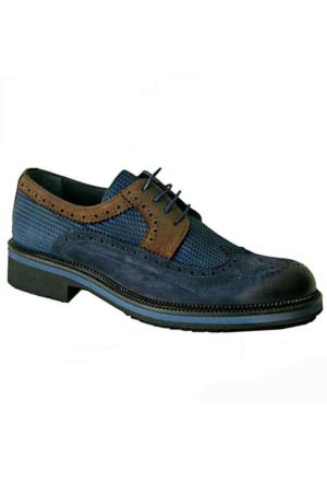 Marcomen 8811 Deri Erkek Ayakkabı Lacivert