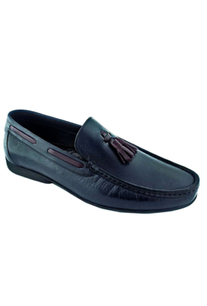 Viya 302 Erkek Deri Rok Ayakkabı Lacivert
