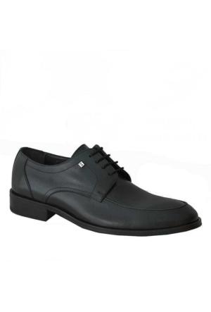 Marcomen 923 Deri Klasik Erkek Ayakkabı Siyah
