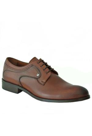 Marcomen 7232 Hakiki Deri Klasik Erkek Ayakkabı Kahverengi