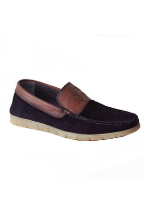 Marcomen 5801 Süet Deri Erkek Ayakkabı Lacivert