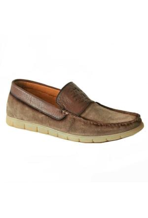 Marcomen 5801 Süet Deri Erkek Ayakkabı Vizon
