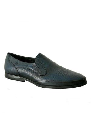 Mammamia 7020 Hakiki Deri Erkek Ayakkabı Lacivert