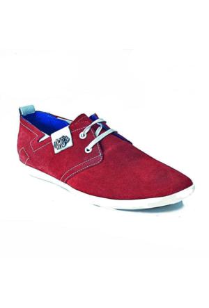 Marcomen 320 Süet Deri Erkek Ayakkabı Bordo