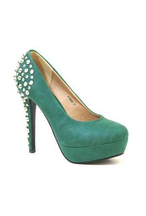 Joanne 06 Topuklu Kadın Ayakkabı Yeşil