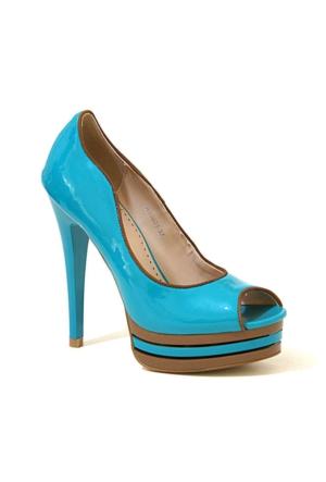 Joanne 71 Topuklu Kadın Ayakkabı Yeşil