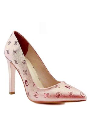 Pierre Cardin 45330 Sivri Burun Topuklu Kadın Ayakkabı Somon