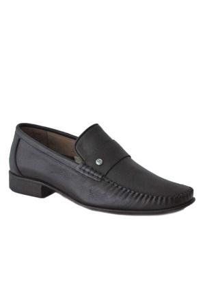 Fratelli 1530 Deri Ortopedik Taban Erkek Ayakkabı Siyah