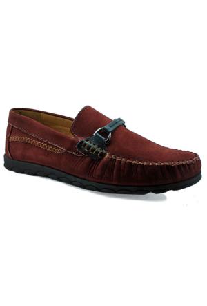 Fratelli 315 Deri Ortopedik Taban Erkek Ayakkabı Bordo