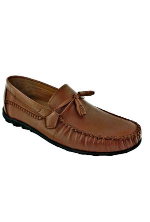 Fratelli 489 Deri Ortopedik Taban Erkek Ayakkabı Taba