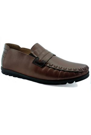 Fratelli 507 Deri Ortopedik Taban Erkek Ayakkabı Taba