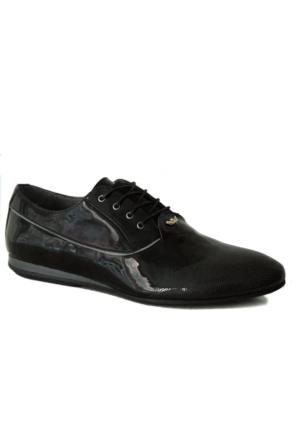 Hammer Jack 4000 Rugan Erkek Ayakkabı Siyah