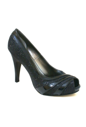 Ayakkabım Çantam Topuklu 9101 Kadın Ayakkabı Siyah
