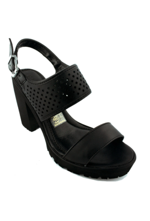 Sms 1183 Topuklu Kadın Ayakkabı Siyah