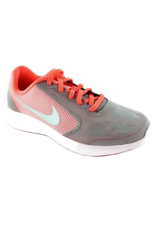 Nike Revolutıon 3 Gs 9413 Unisex Spor Ayakkabı Gri