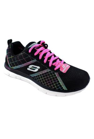 Skechers 12072 Bkmt Ortopedik Spor Ayakkabı Siyah
