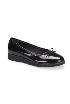 Polaris 62.109205.Z Siyah Kadın Ayakkabı