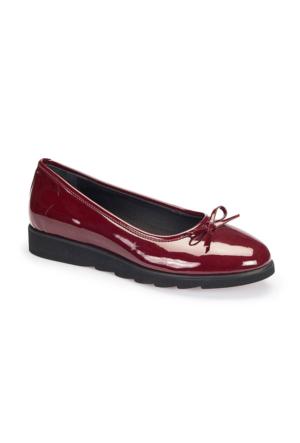 Polaris 62.109205.Z Bordo Kadın Ayakkabı