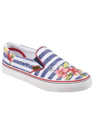 Dockers 220726 Kadın Keten Ayakkabı Mavi