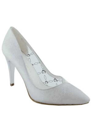Pierre Cardin 45307 Sivri Burun Kadın Ayakkabı Gümüş
