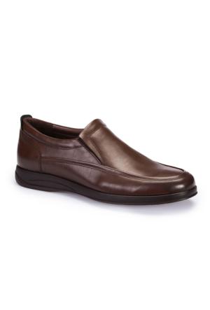 Polaris 62.109415.M Kahverengi Erkek Klasik Ayakkabı