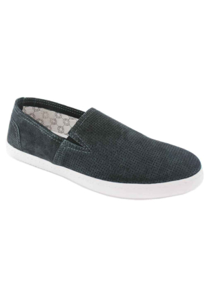 Footcap 8901 Süet Deri Erkek Ayakkabı Gri