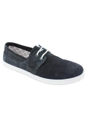Footcap 8902 Süet Deri Erkek Ayakkabı Gri