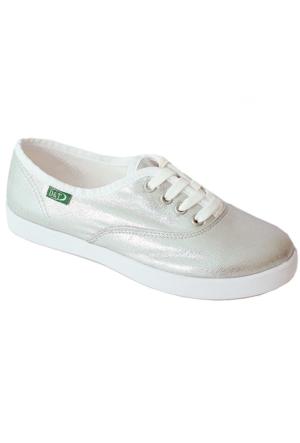 Ottimo 0103 Keten Günlük Kadın Ayakkabı Lame