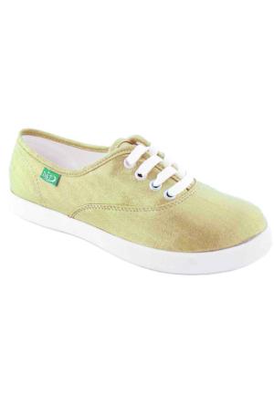 Ottimo 0103 Keten Günlük Kadın Ayakkabı Dore