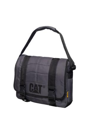 Cat Kumaş Laptop Bölmeli Postacı Çantası Ct80006.06 Gri