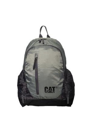 Cat Kumaş Laptop Bölmeli Sırt Çantası Ct81102.37 Gri