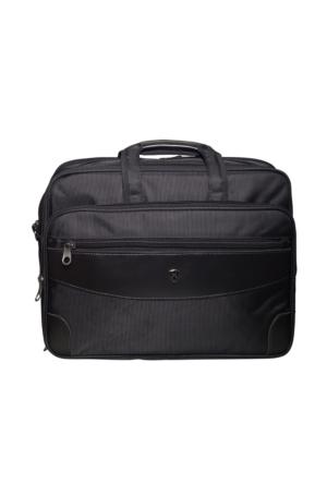 Hard Case Kumaş Evrak Çantası Hc7012 Siyah
