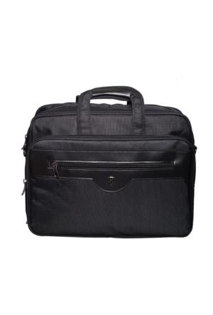 Hard Case Kumaş Evrak Çantası Hc7013 Siyah